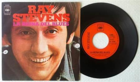 """RAY STEVENS The Queen Of The Blues 1971 Spanish 7"""""""