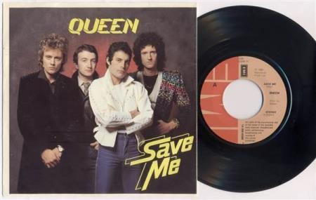 QUEEN Save Me / Let Me Entertain You 1980 Dutch 7""