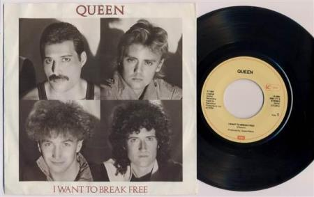 QUEEN I Want To Break Free / Machines 1984 German 7""