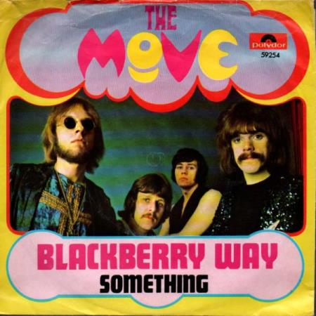 The Move - Blackberry Way / Something - NORSK