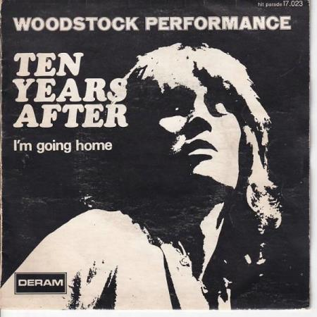 Ten Years After - Im Going Home / Hear Me Calling - FRANSK