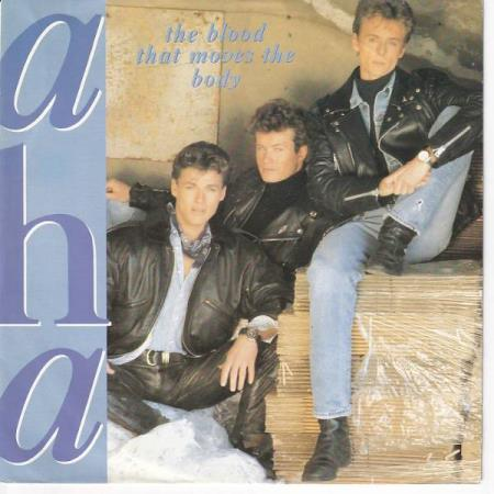a-ha - The Blood That Moves The Body / Theres Never a For..