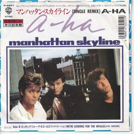 a-ha - Manhatten Skyline / Were Looking For The Whales