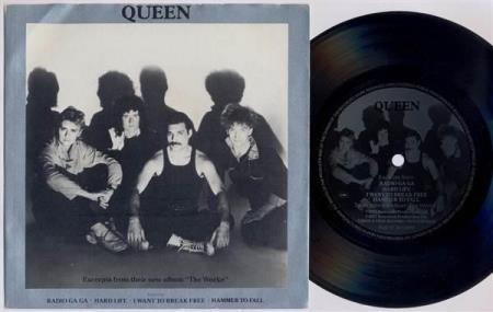 "QUEEN Excerpts From ""The Works"" UK promo 7"" FLEXI"