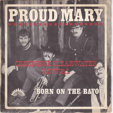 Creedence Clearwater Revival - Proud Mary - FRANSK