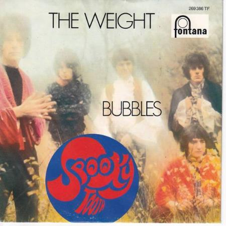 Spooky Tooth - The Weight / Bubbles - TYSK