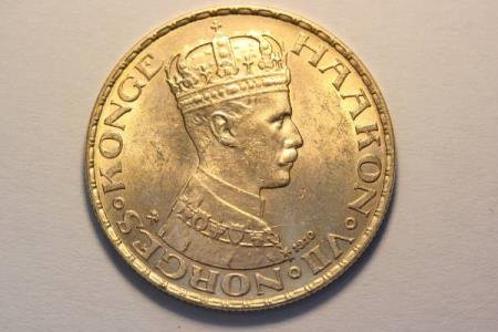 20 KR 1910 NORGE GULL KVAL. 0/01