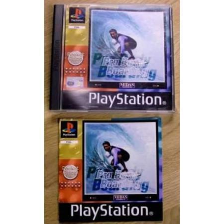 Pro Body Boarding (Midas) - Playstation 1