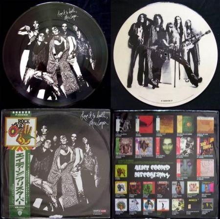 ALICE COOPER Love It Do Death Japan vinyl picture-disc LP