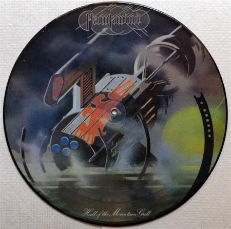 HAWKWIND Hall Of The Mountain Grill Australian pic-disc LP