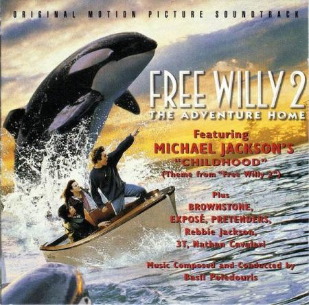 Free Willy 2 (The Adventure Home) - CD - Michael Jackson