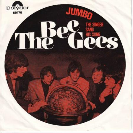 Bee Gees - Jumbo / The Singer Sang His Song - NORSK