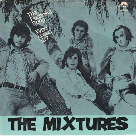 The Mixtures - The Pushbike Song / Who Loves Ya? - NORSK