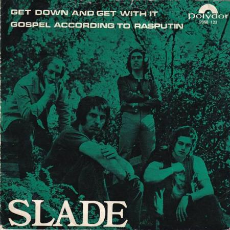 Slade - Get Down And Get With It / Gospel According ...NORSK