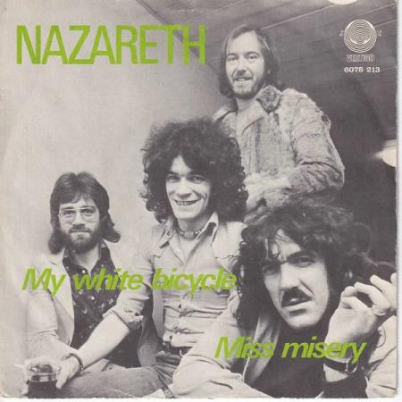 Nazareth - My White Bicycle / Miss Misery - NORSK