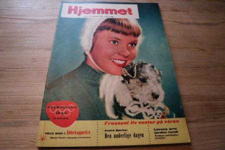 Hjemmet nr. 4-1959 m/ 2 s. Roma forbereder olympiade