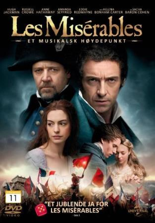LES MISERABLES (2012) (MUSICAL) (HUGH JACKMAN) (DVD)