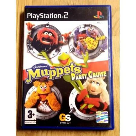 Muppets Party Cruise (Global Star Software) - Playstation 2