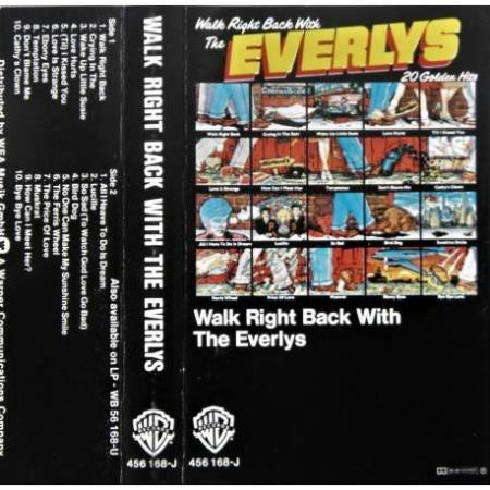 Everly Brothers - Walk Right Back With The Everlys - Kassett
