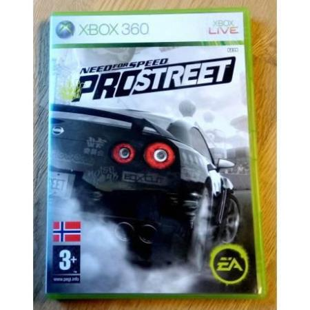 Need for Speed ProStreet (EA Games) - Xbox 360