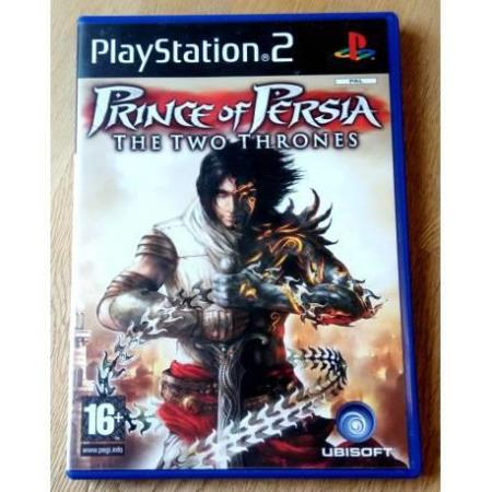 Prince of Persia - The Two Thrones (Ubisoft) - Playstation 2