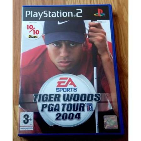 Tiger Woods PGA Tour 2004 (EA Sports) - Playstation 2