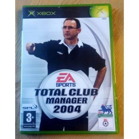 Total Club Manager 2004 (EA Sports) - Xbox