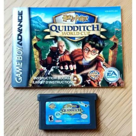 Harry Potter - Quidditch World Cup - Nintendo GBA