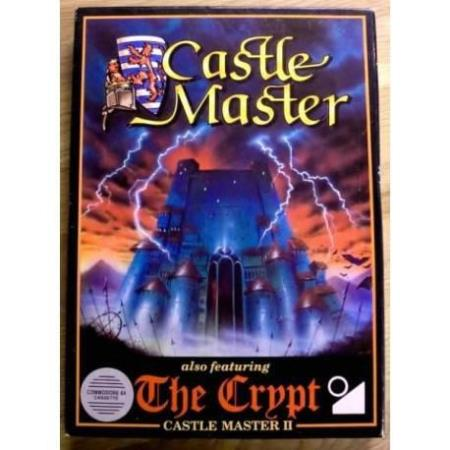 Castle Master II with The Crypt - Commodore 64