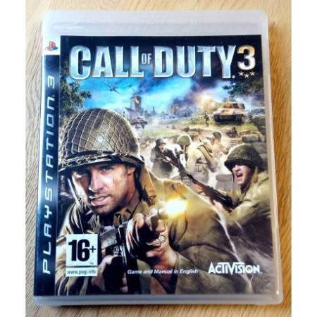 Call of Duty 3 (Activision) - Playstation 3