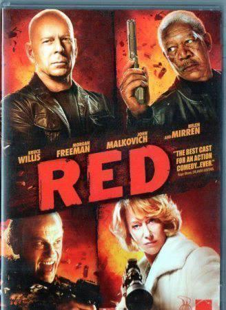 RED (2010) (BRUCE WILLIS) (ACTION) (DVD)