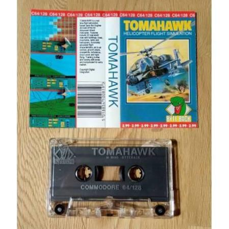 Tomahawk: Helicopter Flight Simulation (Byte Back) - C64