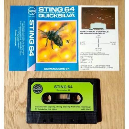 Sting 64 (Quicksilva) - Commodore 64