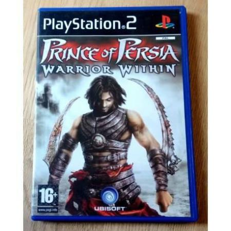 Prince of Persia - Warrior Within (Ubisoft) - Playstation 2