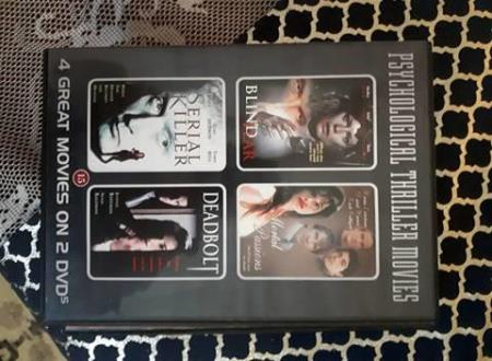 4 GREAT MOVIES ON 2 DVD`S (2 DISC) (DVD)
