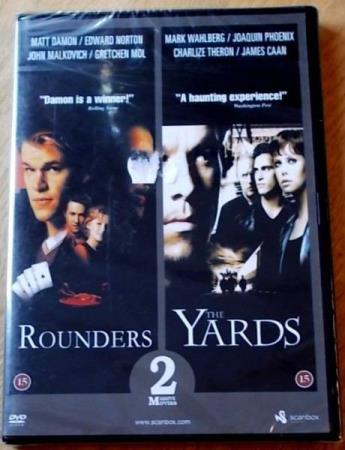 ROUNDERS & THE YARDS (1998/2000) (2 IN 1 MOVIE) (DVD)