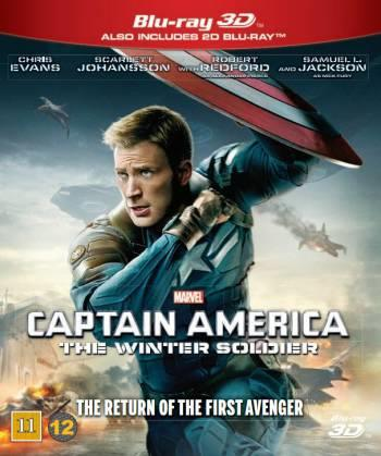 CAPTAIN AMERICA THE WINTER SOLDIER(2014)(3D BLU-RAY & BLU-R)