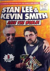 STAN LEE & KEVIN SMITH - SAVE THE WORLD (DOKUMENTAR) (DVD)