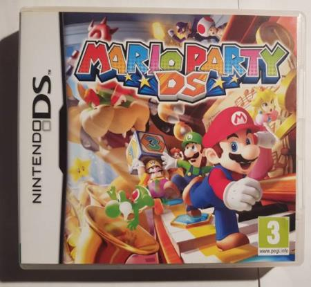 Mario Party - Nintendo DS -komplett med manual