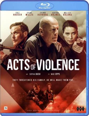 ACTS OF VIOLENCE (2018) (BRUCE WILLIS) (BLU-RAY)