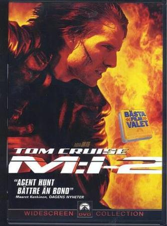 MISSION IMPOSSIBLE 2 (2000) (TOM CRUISE) (DVD)
