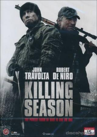 KILLING SEASON (2013) (JOHN TRAVOLTA) (THRILLER) (DVD)