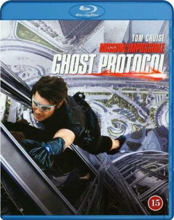 MISSION IMPOSSIBLE - GHOST PROTOCOL (2011) (BLU-RAY)