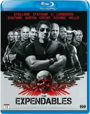 THE EXPENDABLES (2010) (SYLVESTER STALLONE) (BLU-RAY)