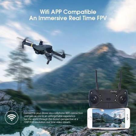 WIFI FPV WITH WIDE ANGLE HD CAMERA HIGH HOLD MODE FOLDABLE A