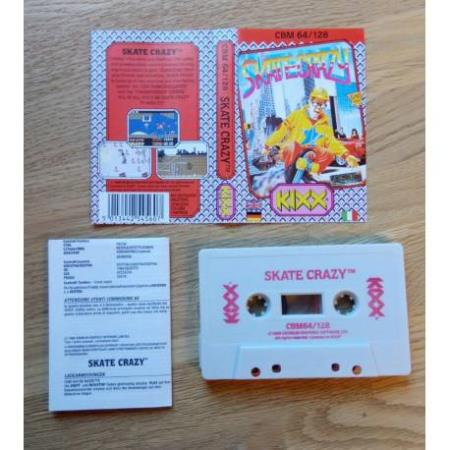 Skate Crazy (Kixx) - Commodore 64 / 128