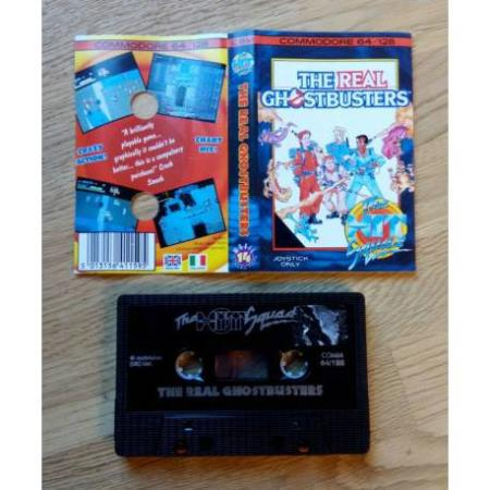 The Real Ghostbusters (The Hit Squad) - Commodore 64 / 128