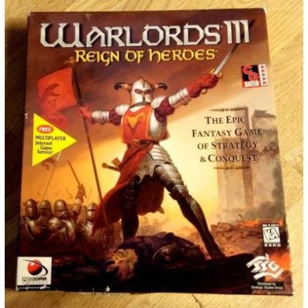 Warlords III - Reign of Heroes (SSG) - PC