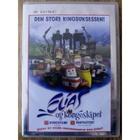Elias og Kongeskipet: 2 Disc Collection - DVD