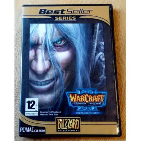 WarCraft III - The Frozen Throne - Expansion Set - PC